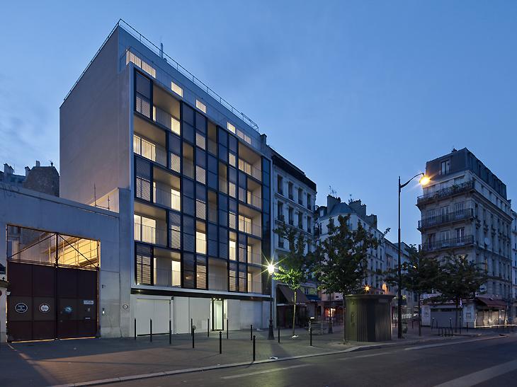 Philippon Kalt Architectes 187 Paris Logements Sociaux
